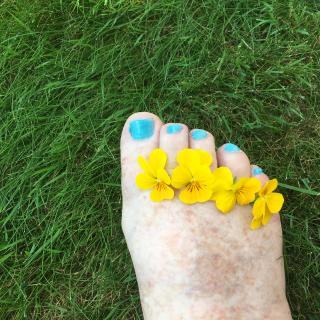 Feet And Flowers photo gallery by Abbie Nooday