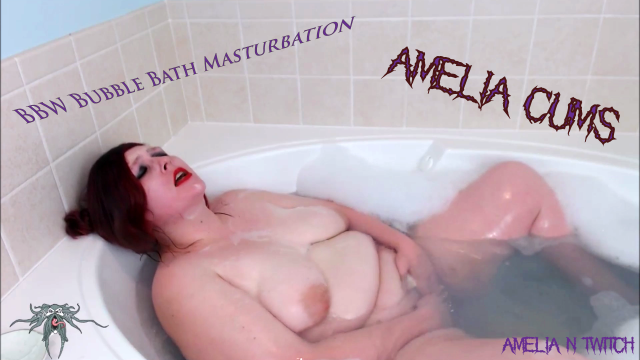 Amelia Takes a Bath and Gets Naughty video from Amelia