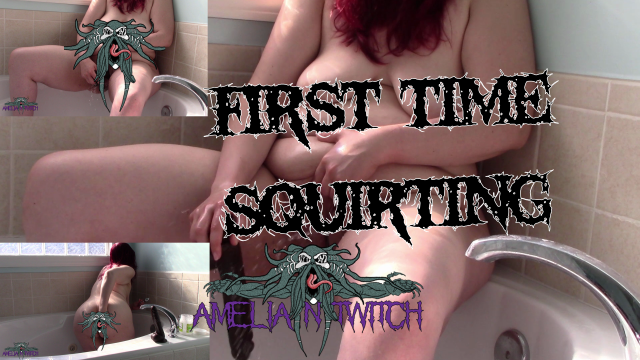BBW First Time Squirting video from Amelia