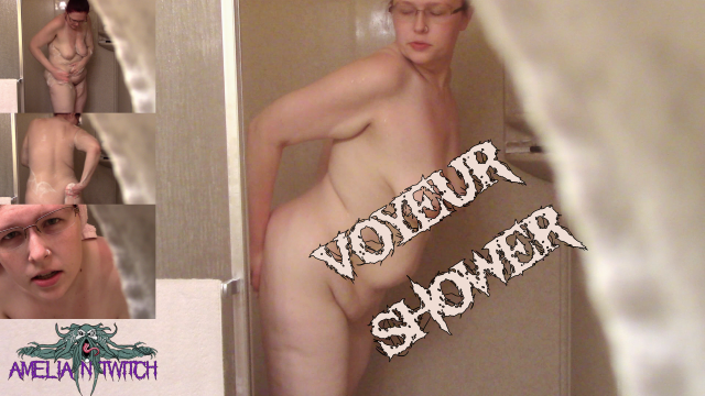 Voyeur Shower video from Amelia