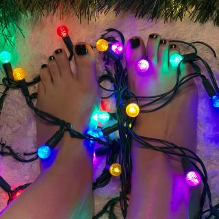 Colorful Holiday Feets Photoset photo gallery by Audrey Marie