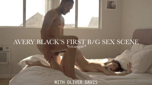 Avery Black's First B/G Sex Scene CREAMPIE with Oliver Davis video from Avery Black