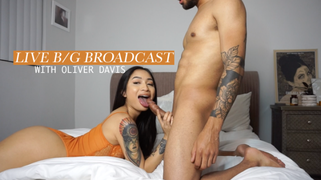Avery's LIVE B/G Cam Show with Oliver Davis video from Avery Black
