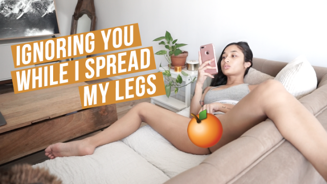 Ignoring You While I Spread My Legs video from Avery Black