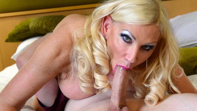 Glamorous Busty Blonde Milf Annabelle Fucked by Toyboy Lover Big Johnny! video from Big Johnny XXX