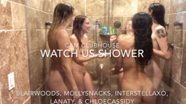 5 Girls in the Shower video by Blairwoods