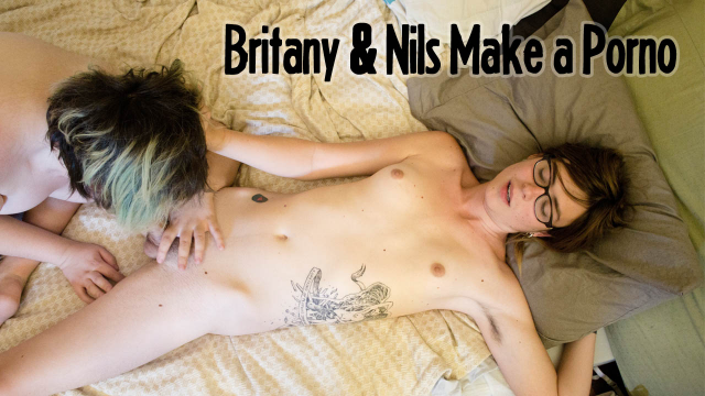 Brittany and Nils Make a Porno!