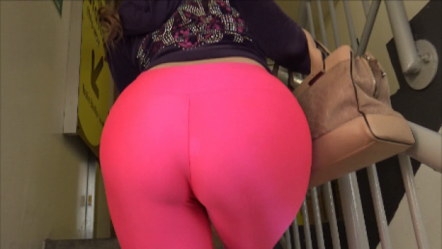 Wearing My Lycra Leggings In Public video from Brook Logan