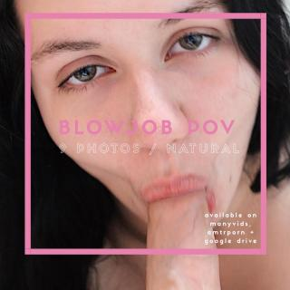 Blowjob POV Photoset photo gallery by Bunni Bangz