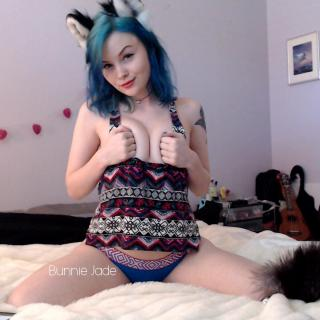 Wolf Girl Flashes photo gallery by Bunnie Jade