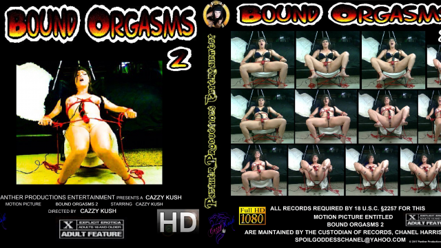 Bound Orgasms 2 video by Cazzy Kush