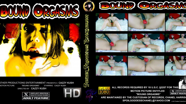 Bound Orgasms video by Cazzy Kush