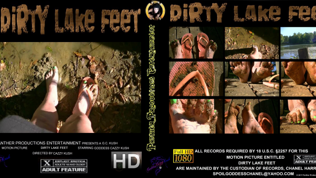 Dirty Lake Feet video by Cazzy Kush