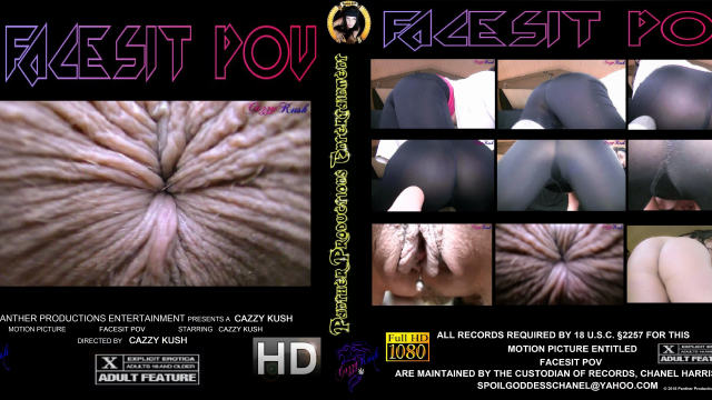 FaceSit POV video from Cazzy Kush