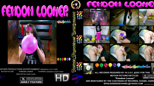 Femdom Looner video from Cazzy Kush