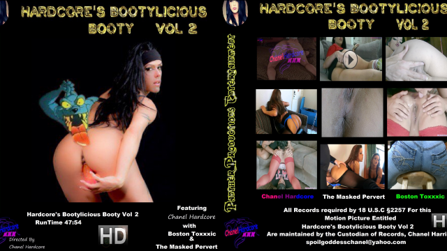 Hardcore's Bootylicious Booty Vol.Two 6 Full Length Films video from Cazzy Kush