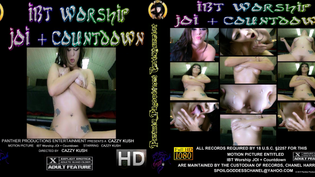 IBT Worship JOI Countdown video by Cazzy Kush