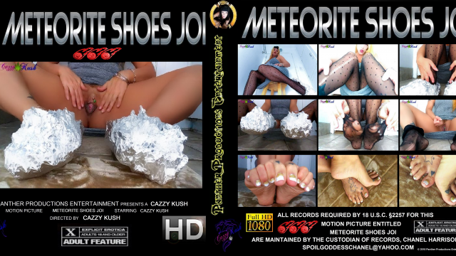 Meteorite Shoes JOI video from Cazzy Kush