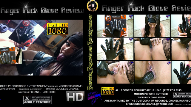 OxBalls Finger Fuck Glove Use and Review video from Cazzy Kush
