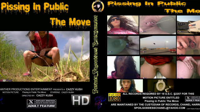 Pissing in Public The Move video by Cazzy Kush