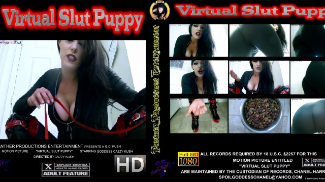 Virtual Slut Puppy video by Cazzy Kush