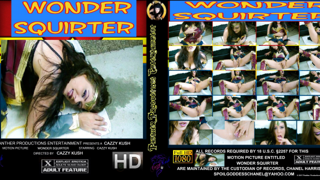 Wonder Squirter video by Cazzy Kush