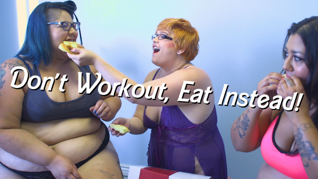 Don't Workout, Eat Instead! video by CricketRose