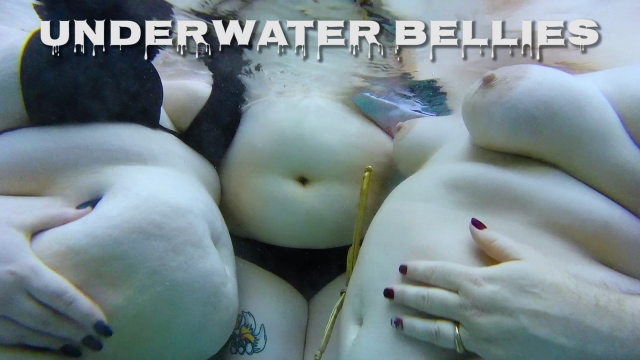 Underwater Bellies video by CricketRose