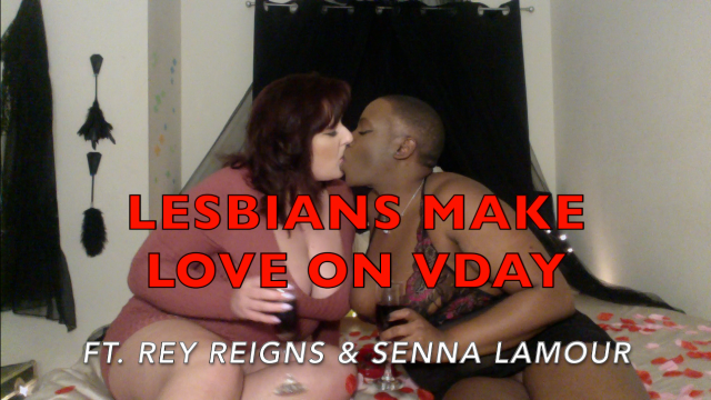 Lesbians Make Love (On VDay) video by Cum2WorshipRey