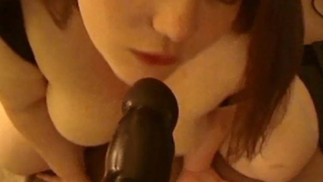 POV BBC Blowjob video from CurvyRedhead