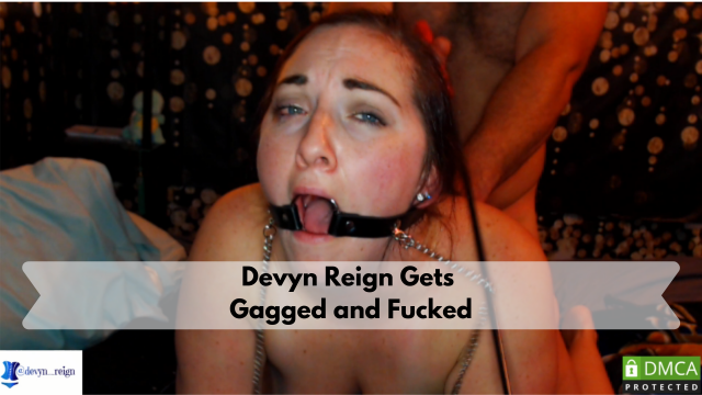 Devyn Reign Gets Gagged and Caned video from Devyn Reign