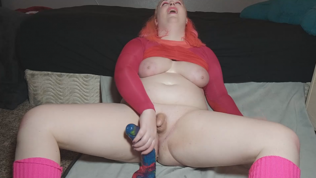 80s Yoga Instructor fucked by massive cock video from Domina Vi