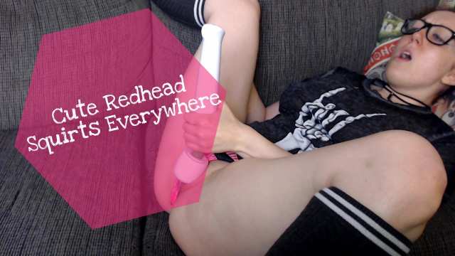Cute Redhead Squirts Everywhere video from Ellamourne