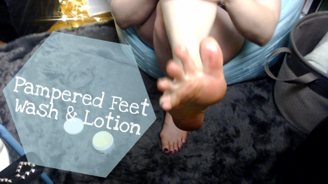 Pampered Feet Wash & Lotion video from Ellamourne
