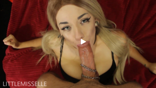 Amateur Porn Video : Collared BJ Fuck and Facial