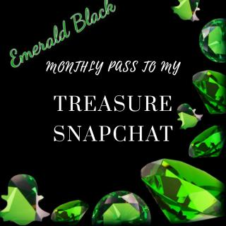 Treasure Snapchat One Month photo gallery by Emerald Black