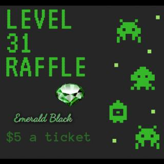 Level 31 raffle ticket photo gallery by Emerald Black