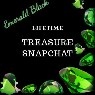Lifetime pass to Treasure Snapchat photo gallery by Emerald Black