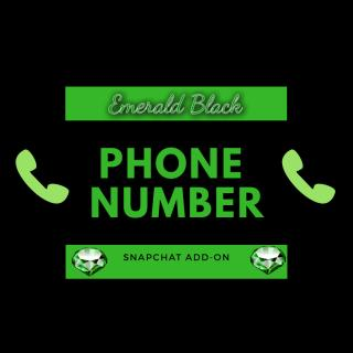 Phone number snapchat add on photo gallery by Emerald Black