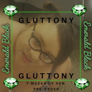 7 weeks of sin: Gluttony pre-order photo gallery by Emerald Black