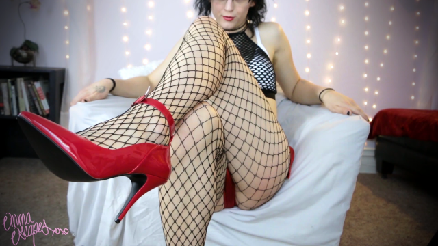 Red Heels JOI video from Emmaescapes
