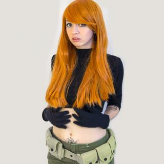 Kim Possible Lewd Cosplay Photoset photo gallery by Fapcakesenpai