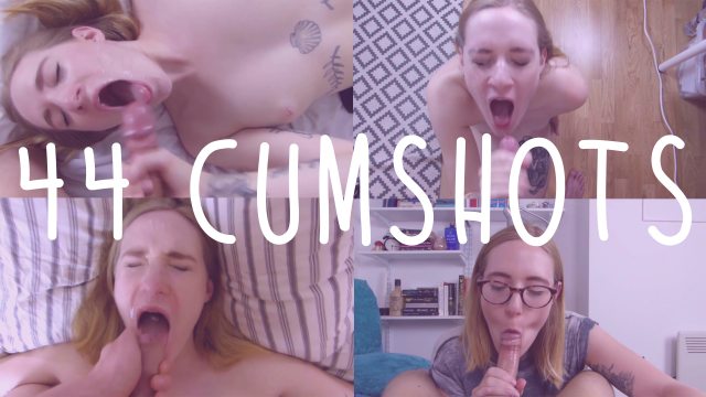 44 Cumshots! video from Fiona Dagger