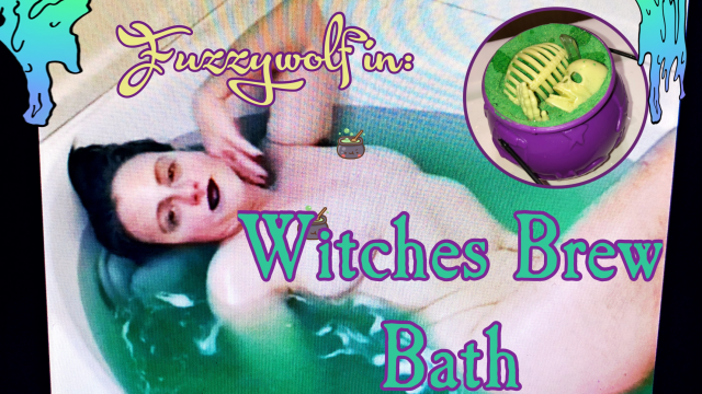 Witches Brew Bath video from Jennalea Pratt