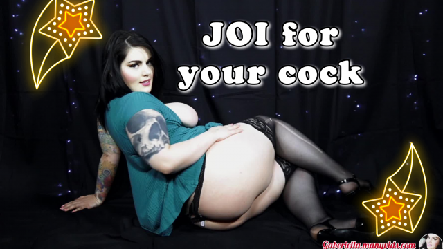 JOI For your cock Jerk off for me! video from Gabby Monroe