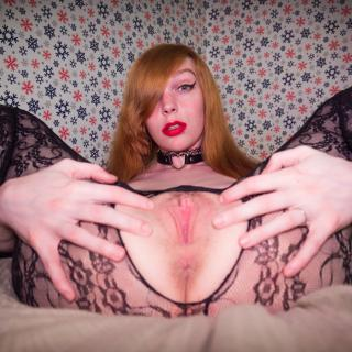 Black lace body stocking photo gallery by Gamergirlroxy