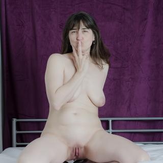 Nude on the Bed photo gallery by GermanHotMilf