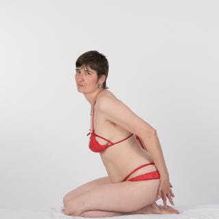 Red Lingerie photo gallery by GermanHotMilf