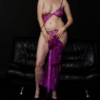 Purple Negligee photo gallery by GermanHotMilf