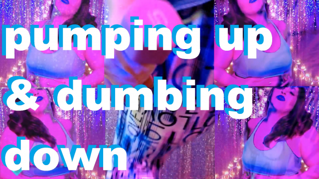 Pumping Up and Dumbing Down video from Joules Opia